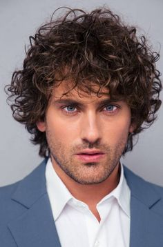 40 Modern Mens Hairstyles For Curly Hair That Will Change Your Look pertaining to size 1600 X 2057 Long Curly Hairstyles Men - Short curly hairstyles are Mens Modern Hairstyles, Boy Hairstyles, Curled Hairstyles, Vintage Hairstyles, Zoella Hairstyles, Medium Curly, Medium Hair Styles, Short Hair Styles, Curly Hair Cuts