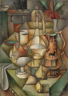 Nature Morte, 1911, Jean Metzinger