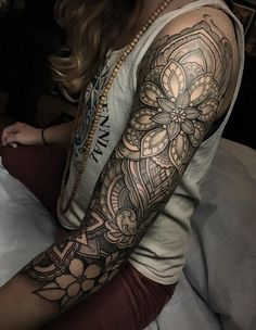 Full sleeve tattoo - 95 Awesome Examples of Full Sleeve Tattoo Ideas <3 <3