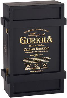 Gurkha Cellar Reserve Limitada Cigar I just got one of these boxes and will be making it into a Humadorable soon!