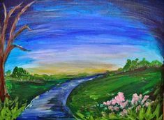 16 Gambar Abe85 Terbaik Lukisan Lanskap Pemandangan Dan Alam