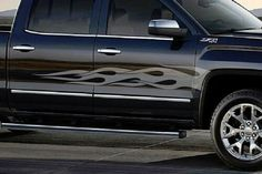 GMC  RACING STRIPES DECAL FOR DOORS SIDE SIERRA  ACADIA YUKON TERRAIN CANYON