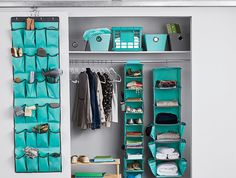 College Organizing Hacks: Betcha never thought to use an over-the-door shoe organizer in these clever and super-useful ways!