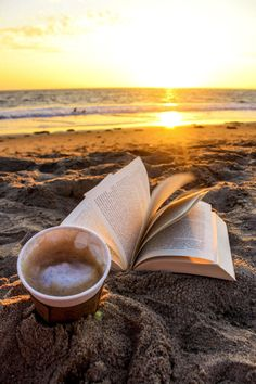 Sunrise Coffee with a Book on the beach.Heaven on Earth Coffee Photography, Beach Photography, Portrait Photography, Travel Photography, Photography Jobs, Fitness Photography, Lifestyle Photography, Family Photography, Sunrise Drawing