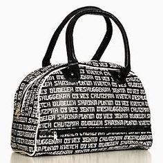Yiddish sayings travel bag.