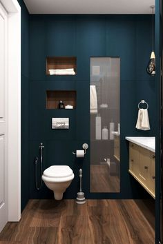 51 Contemporary Bath Decoration That Make Your Home Look Fabulous - Futuristic Interior Designs Technology Country Style Bathrooms, Chic Bathrooms, Amazing Bathrooms, Modern Bathroom, Black Vanity Bathroom, Man Bathroom, Basement Bathroom, Bathroom Ideas, Wc Design