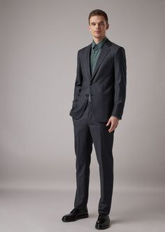 Shop the official online Giorgio Armani store for the new arrivals in Men's fashion and clothing from the new collection. Giorgio Armani, Soho, Armani Store, Handsome, Mens Fashion, Suits, Formal, My Style, Spotlight