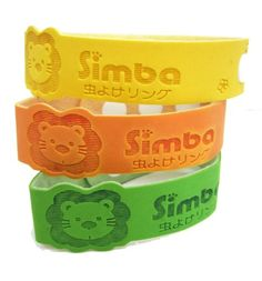 Simba Baby/Kids Natural Mosquito Repellent Bracelet-Natural Citronella and Lemon Extract/ No DEET, Extra Safe! (3 PCs)   Comes in green, yellow, and orange color. Read  more http://shopkids.ca/baby-care/simba-babykids-natural-mosquito-repellent-bracelet-natural-citronella-and-lemon-extract-no-deet-extra-safe-3-pcs