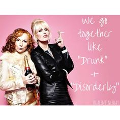 Happy Birthday Bestie Quotes, Birthday Quotes, Birthday Cheers, Fabulous Birthday, Birthday Fun, Birthday Cake, Absolutely Fabulous Quotes, Patsy And Edina, Happy Galentines Day
