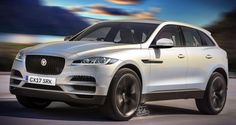 Jaguar F-Pace rendered based on latest mule photos