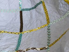 Simple quilt pattern.  Back of quilt has a few stripes for interest.