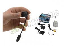 Mini-caméra couleur sans fil 1.2G