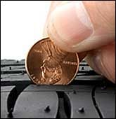 Measuring Tire Tread Depth with a Coin