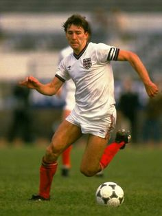 Bryan Robson of England in 1984.