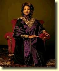 Bishop Vashti McKenzie -- First woman to be consecrated bishop in the AME Church ~ 13th district