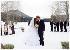 Katia Hudson Photography » Gorgeous winter wedding, Leavenworth Wa.