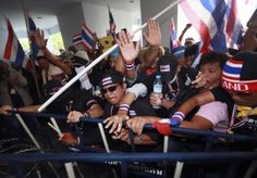 Anti-Government Protesters Continue to Rock Bangkok