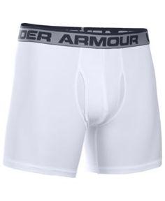 Under Armour Men's The Original Boxer Briefs - White L