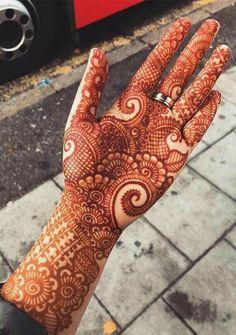 Easy Mehndi Designs, Henna Hand Designs, Dulhan Mehndi Designs, Latest Mehndi Designs, Bridal Mehndi Designs, Mehendi, Mehndi Designs Finger, Palm Mehndi Design, Indian Henna Designs
