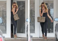 Rosie Huntington-Whiteley was seen fashionably exiting Ballet Bodies LA Studio...Get the full story at www.alaurasapproach.com
