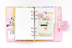 If you aren't already jumping on the planner bandwagon, this post is definitely going to push you over the edge! Decorated planners are all the rage right now and this one from Jessy is pure eye candy!! She talks about how she is using her planner in a bit of an untraditional way and I love that she…