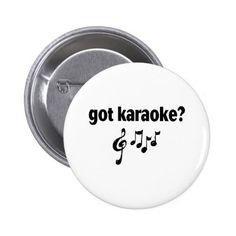 got karaoke button