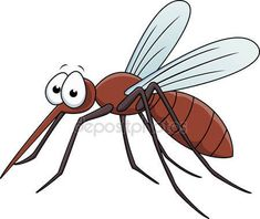 Illustration of Vector Illustration Of Mosquito Cartoon vector art, clipart and stock vectors. Mosquito Drawing, Cartoon Mosquito, Bee Rocks, Art Books For Kids, Pictures Of Insects, Inkscape Tutorials, Mosquitos, Insect Art, Tatoo Art