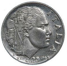 20 Centesimi Impero 1943