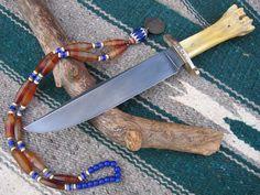506 - Leg Bone Bowie @ Bear Bone Knives
