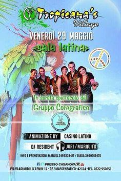 #tropicanasvillage #casinolatino #larelare #venturadanceschool venerdì 29.5.15 per il tuo OMAGGIO DONNA/lista/cena #dimitrimazzoni 3933366886