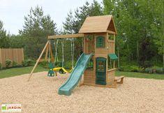 aire de jeux et d'escalade en bois de cèdre Welcome To My House, Best Investments, Architect Design, House Plans, House Design, Patio, Montage, Summer, Play Structures