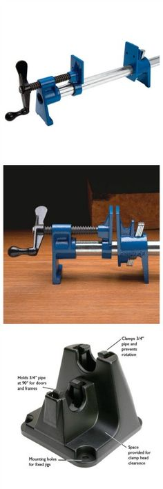 Sure-Foot Plus® 3/4'' Pipe Clamp. Rockler.com woodworking tools