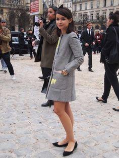 THE STREETSTYLE HUNTER: 06-mar-2013. Miroslava Duma. Louis Vuitton, París.