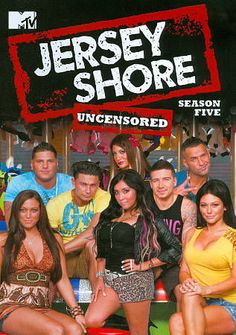 Jersey Shore: Season Five Uncensored 3-Disc Set DVD -PLAYS LIKE NEW!!