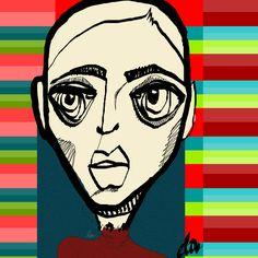 Cabezona023_protégete el cuello #cabezonasdeela #300cabezonasdeela #cabezonasdeela2017 #ilustración #illustration #caraqueños #migente