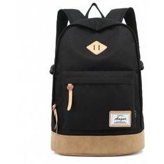Just US$22.99, buy AUGUR Men Women Backpack School for Teenager College Waterproof Oxford Travel Laptop Bag online shopping at GearBest.com Mobile.