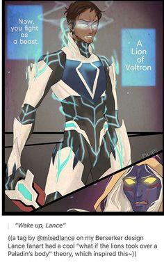 Now, you fight as a beast a lion of Voltron mode Lance Form Voltron, Voltron Ships, Voltron Klance, Dreamworks, Voltron Comics, Voltron Fanart, Berserk, Haikyuu, Voltron Force