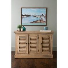 East at Main's Rustic Natural Buffet with Storage TT-DF-PR306-1 at The Home Depot - Mobile