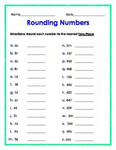 Rounding to the nearest 10 with a number line there are many on rounding numbers to the nearest tens place ibookread ePUb
