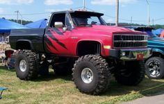 Big Wheels And Tires