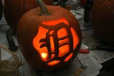 #wdet loves this Tigers Jack-o-lantern! #detroit