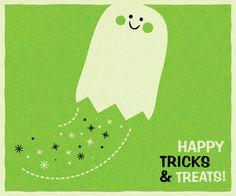 Happy Tricks  Treats! - free printable