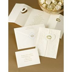 Ecru Love and Marriage - Invitation | Invitations By Dawn