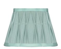 Polysilk Pinch Pleat Shade In De Turquoise, Lamp Shades, Empire, Cheer Skirts, Bedroom, Amazon, Egg, Lighting, Ideas