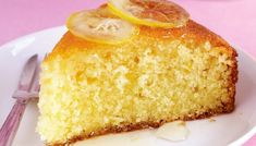 Portuguese Simple Lemon Cake Recipe - A delicious Portuguese style simple lemon cake (bolo de limão simples) that is easy to make and ve -