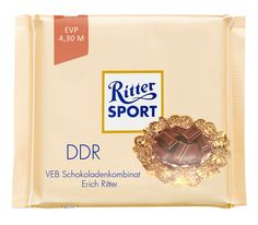 Ritter Sport Fake Sorte - für Ostalgiker