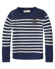 Sailor Striped Pullover - Scotch Escocés 4a9ec2f3a56