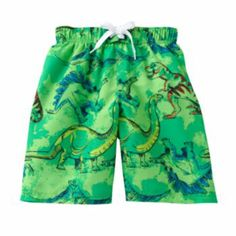 Jumping Beans Dinosaur Swim Shorts - Boys 4-7x