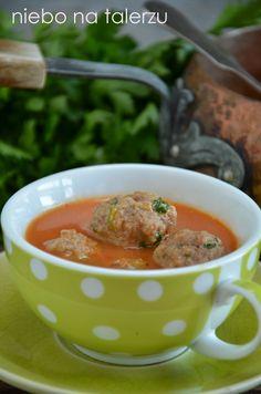 niebo na talerzu: Zupa z papryki i pomidorów