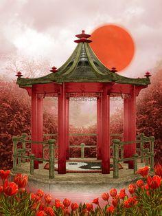 Яндекс.Фотки.Oriental_Spring_Backgrounds.